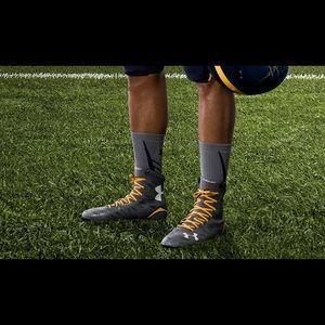 Naval academy football cleats.